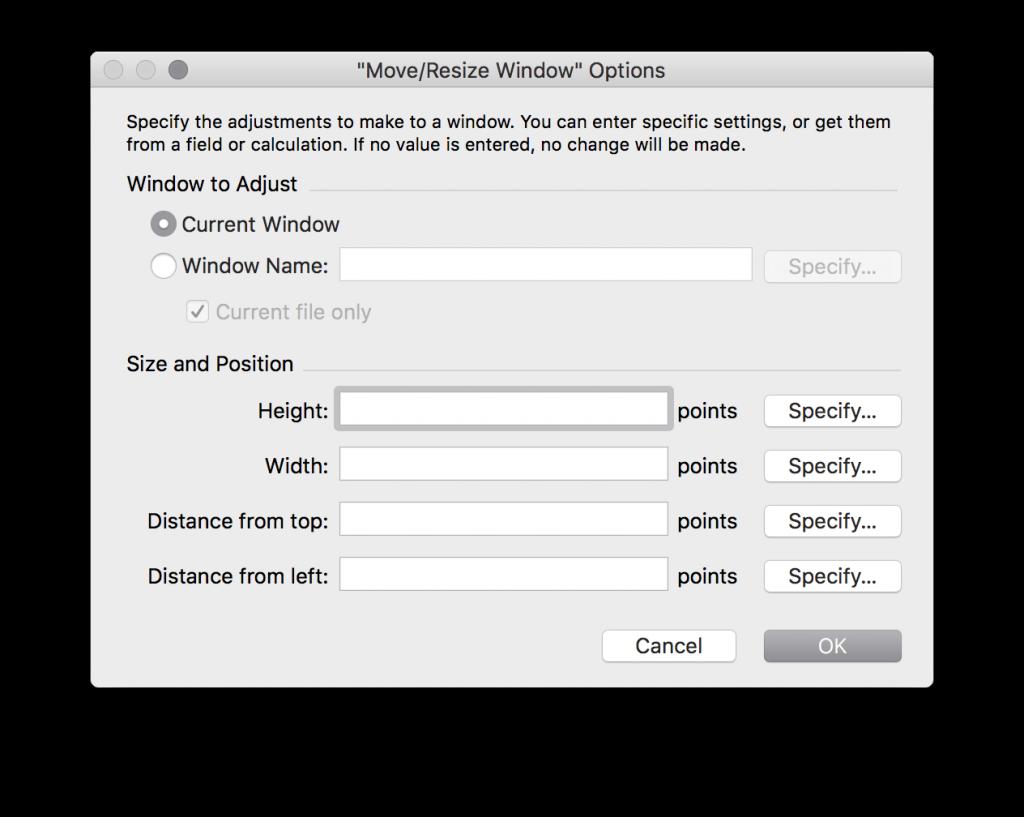 move resize window options